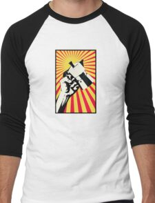 Moka Revolution! Men's Baseball ¾ T-Shirt