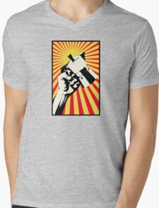 Moka Revolution! Mens V-Neck T-Shirt