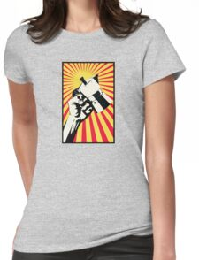 Moka Revolution! Womens Fitted T-Shirt