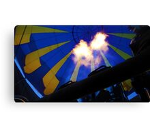 Fire in the Hole! Canvas Print