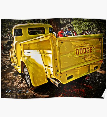 That Old Yellow Dodge Poster