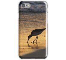 Sandpiper in Evening iPhone Case/Skin