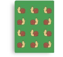 Adventure Time Snail - Small Sticker Set Canvas Print