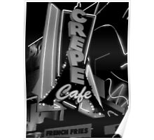 CREPE CAFE Poster