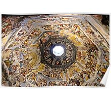 Painted Ceiling of the Duomo Poster
