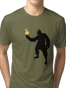 TF2 - Pyro Tri-blend T-Shirt