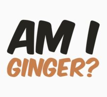 Doctor Who Am I Ginger? by fandomfashions