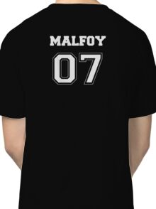 Malfoy Quidditch Jersey Number Classic T-Shirt