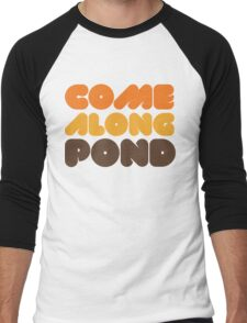 Doctor Who Come Along Pond Men's Baseball ¾ T-Shirt