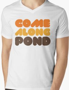 Doctor Who Come Along Pond Mens V-Neck T-Shirt