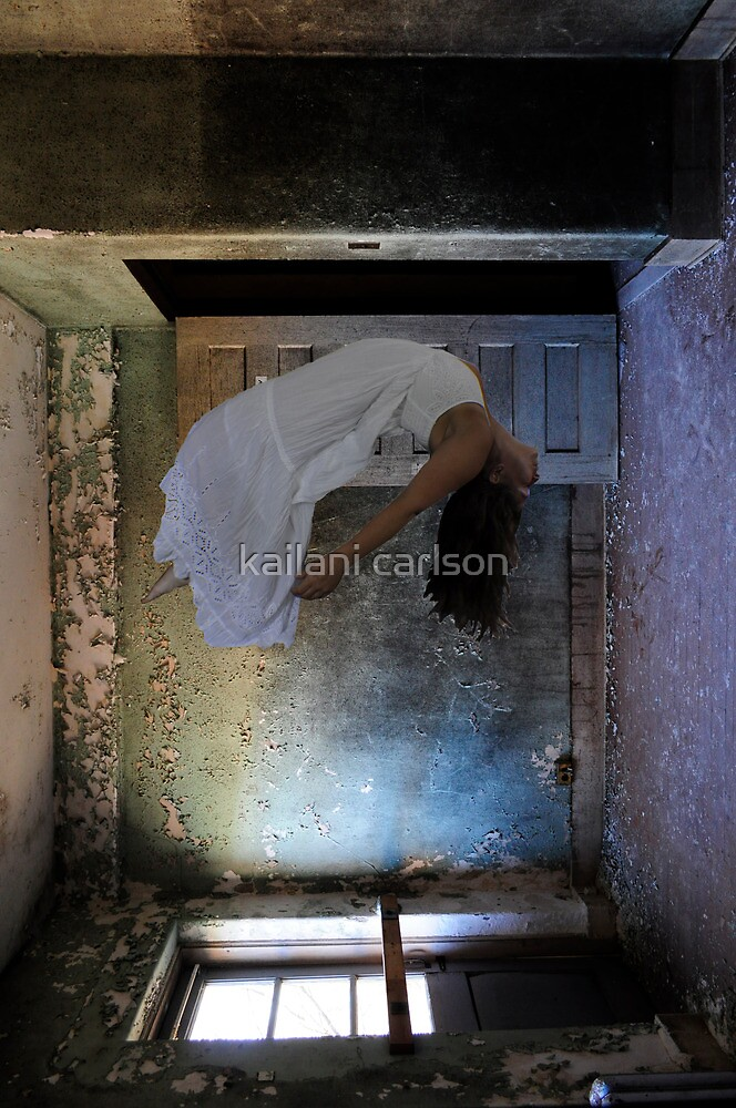 """Histoire des Mentalités""(Self Portrait), Abandoned Asylum by MJD Photography  Portraits and Abandoned Ruins"