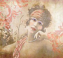 Flapper with Flourishes by MaureenTillman