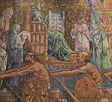Wade Chapel mosaic {Wilson & Tiffany} by WonderlandGlass