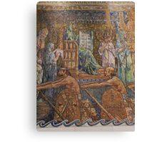 Wade Chapel mosaic {Wilson & Tiffany} Canvas Print