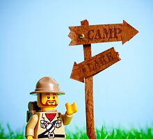 When I'm going camping... by iElkie