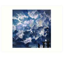 the sky-wanderer. Art Print