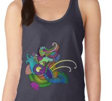 explosion, colored Women's Tank Top
