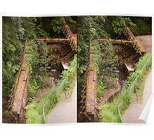 Old Water - A Stereograph Poster