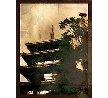 Pagoda Photographic Print