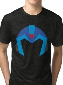 Mega Man X Helmet T Tri-blend T-Shirt