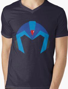 Mega Man X Helmet T Mens V-Neck T-Shirt