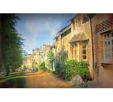 A Stroll Through Oxford - Oxfordshire, England Photographic Print