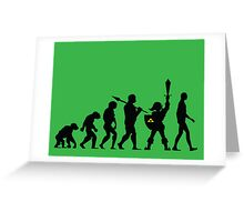 Missing Link Greeting Card