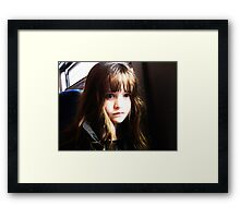 My Doll Framed Print