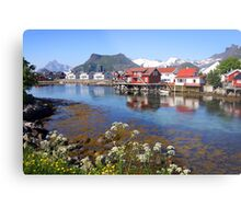 Lofoten Islands Metal Print