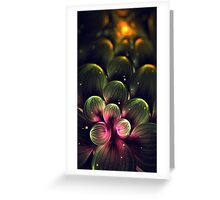 Midnight in Cactus Valley Greeting Card