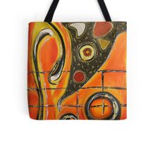 The Fires Of Charged Emotions.. Tote Bag