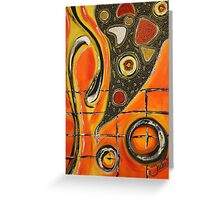 The Fires Of Charged Emotions.. Greeting Card