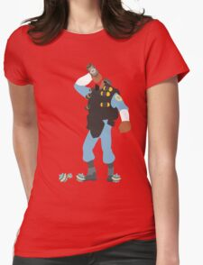 TF2 - Demo / BLU Team Womens Fitted T-Shirt