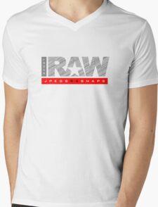 Shoot Raw Mens V-Neck T-Shirt