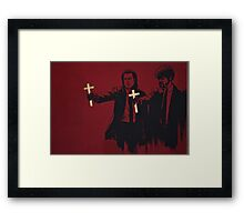 Crossing Fiction Framed Print