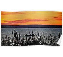 Fathers Day Sunset Over Narragansett Bay - Rhode Island Poster
