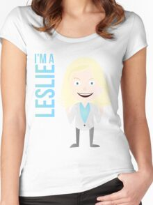 i'm a leslie Women's Fitted Scoop T-Shirt