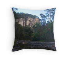 Carvarvon Gorge Creek Crossing Throw Pillow