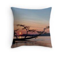 Anacortes Sunset Throw Pillow