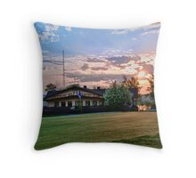 Lake Point Golf &Country Club at Sunrise Throw Pillow