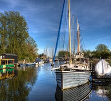 Chelmer & Blackwater Canal by timmburgess