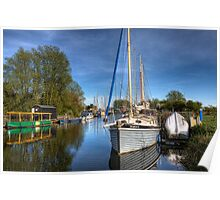 Chelmer & Blackwater Canal Poster