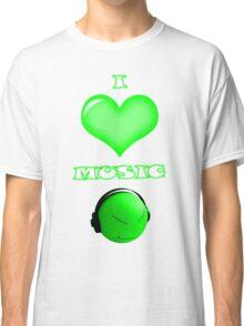 I love music - front Classic T-Shirt
