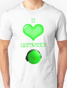 I love music - front T-Shirt