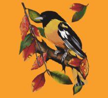 Oriole In Fall by Lotacats