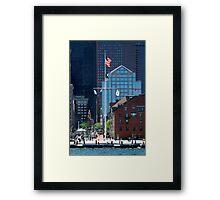 Boston Waterfront Framed Print