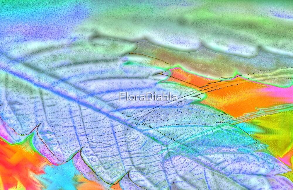 Leaf in High Def by FloraDiabla