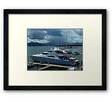 Busy Times Port Denaru Fiji Framed Print
