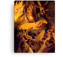 Insect King Canvas Print
