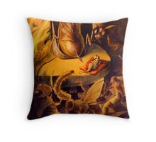 Insect King Throw Pillow